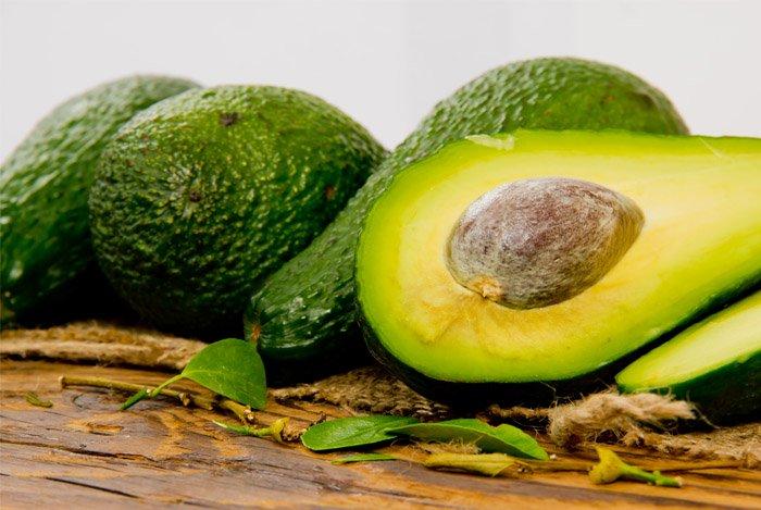 calories in half an avocado
